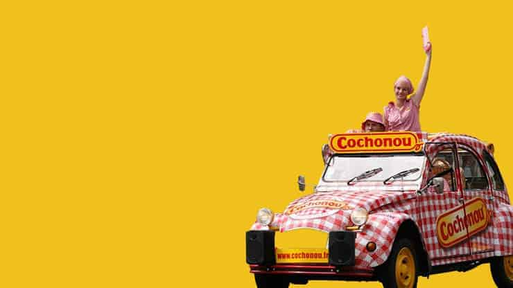 Caravane Tour de France Cochonou goodies | Pandacola