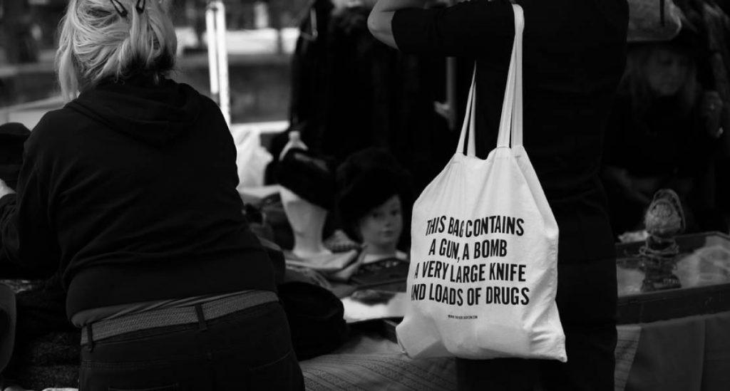 Tote-bag personnalisé avec phrase provocante | Pandacola - So Fresh Goodies